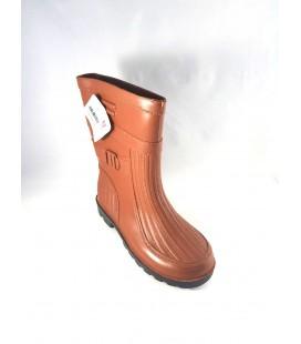 Gezer Kısa Kahverengi Çizme