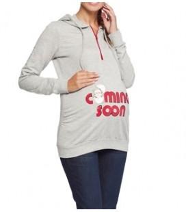 LC Waikiki woman pregnant 5K5925Z8 Sweatshirt