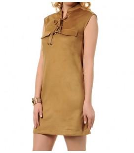 5YAK88470PK130 cotton lady dress