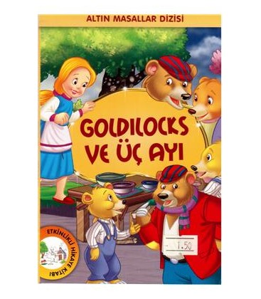 Golden Goldilocks And The Three Bears Tales Series