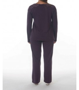 Women's Modal Pajama Dagi Dgk283 Team B0214K1180