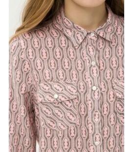 Koton Kadın Uzun Kollu Gömlek 7KAL61363OW41E