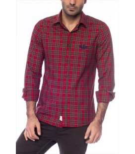 Lee Cooper men's Plaid Shirt 161 LCM 241061