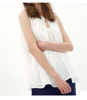 7KAK33733EW cotton Lady Blouse
