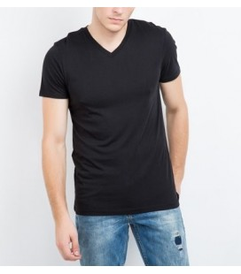 MUSTANG TRUE DENIM men's short V-neck T-Shirt 04M00058440