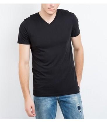 MUSTANG TRUE DENIM men's short V-neck T-Shirt 04M00058440