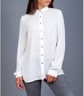 Koton Kadın Beyaz Gömlek 7YAK66805IW001