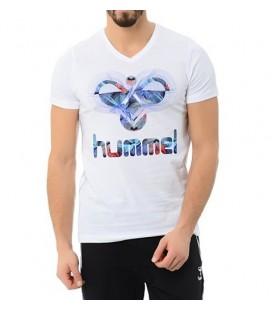 Hummel Men's T-Shirt T08686-9001 Brian Tee Ss