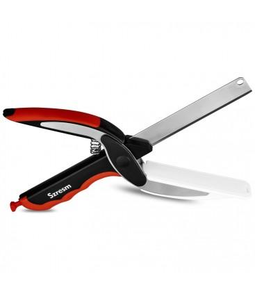 Clever Scissors Sebze ve Pizza Kesme Bıçağı