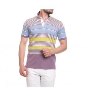 Deer Men's Slim Fit Pique T-Shirt Rose 115206045