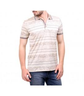 Karaca Erkek Polo Yaka Regular Fit T-Shirt  Taş 114206041