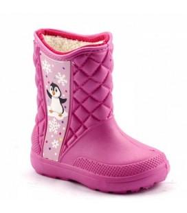 Eva Boots Waterproof Boots Girl Boy Pink Overhead Light Daily 00391
