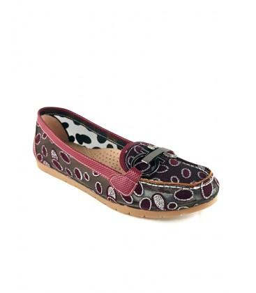 Punto Kadın Bordo Ayakkabı 674028