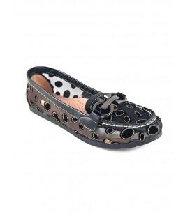 Women's Punto Black Shoes 674028