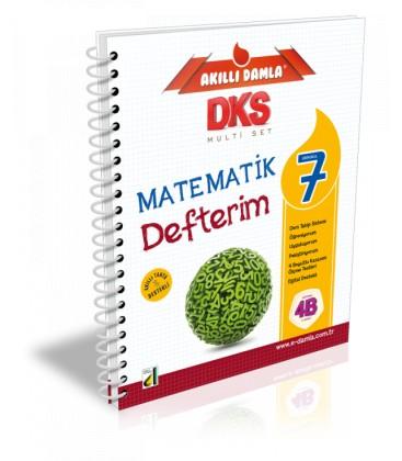 Akıllı Damla 7. Sınıf Matematik Defterim - Damla Yayınları