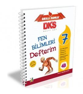 Akıllı Damla 7. Sınıf Fen Bilimleri Defterim - Damla Yayınları