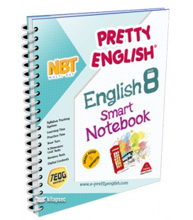 8. English Class Notebook Pretty Smart - Drip Publishing House