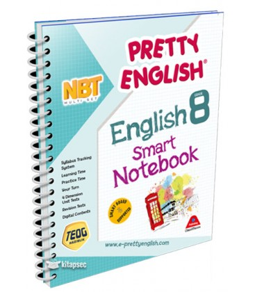 8. English Class Notebook Pretty Smart - Drip Publishing House