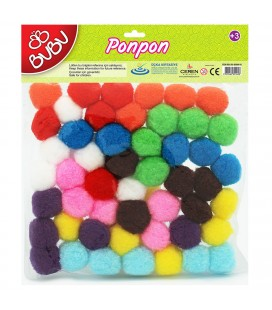 Bubu Ponpon 2 cm 100 Adet BU00109