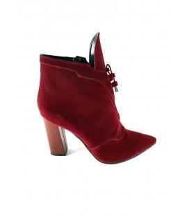 Kadın Kırmızı Süet Ayakkabı GD0015