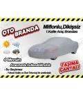 AutoCet Miflonlu,Dikişsiz Oto Brandası 4 Mevsim Kullanım Su Geçirmez