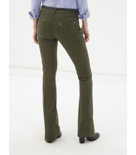 Plain cotton, Normal waisted pants 6YAK47337OW801