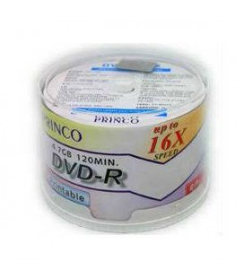 Princo 16X 4.7GB 50'Li Cakebox DVD-R