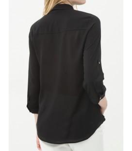 Koton Rahat Kesim,Cep Detaylı Gömlek  6YAK63890EW999