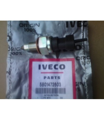 Original Reverse Light Switch Iveco 5801472603