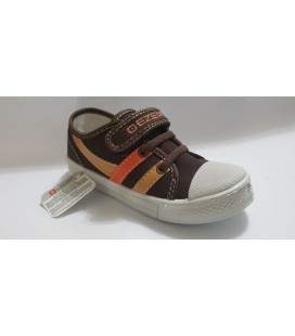 Gezer 01843.00 Kid Shoes Brown