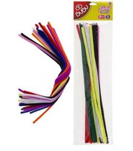 Bubu Şönil 30cm 25 Adet 9 Renk BU00104