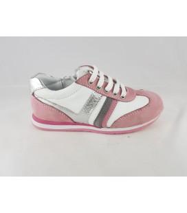 Kemal Tanca Çocuk Ayakkabısı Beyaz Gül Kurusu