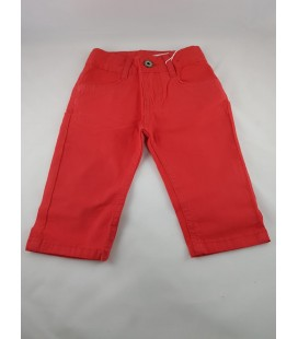 Girl Boy Pants Red