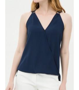 Cotton sewing Detail, Sleeveless Blouse 6YAK32881CW710