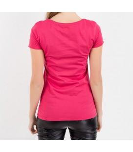 Mavi Girl Grafik T-Shirt Koyu Pembe 163255 13882