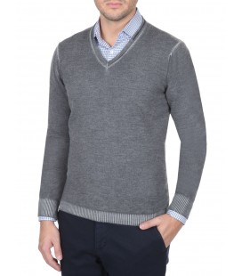Ramsey 124445A men's knitted Sweater
