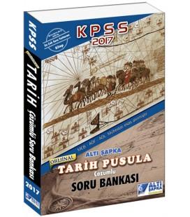 2017 KPSS Tarih Pusula Çözümlü Soru Bankası Altı Şapka Yayınları