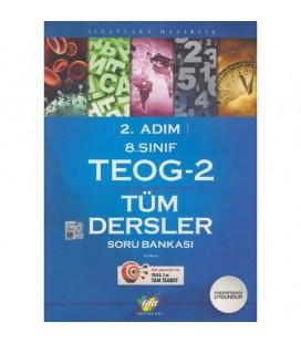 8. Sınıf 2. Adım Teog-2 Tüm Dersler Soru Bankası Fdd Yayınları