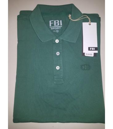 FBI Erkek Yeşil Tişört 46717-666 %100 Pamuk