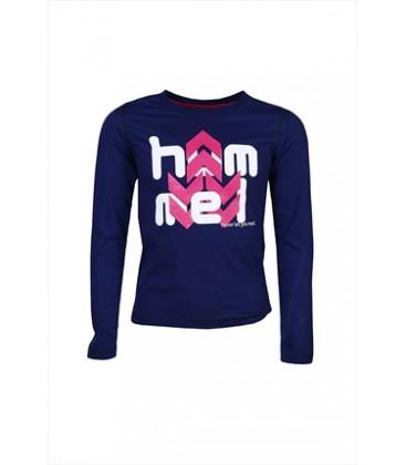 Hummel Lacivert Kız Çocuk T-Shirt C09127-7814