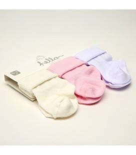 Hello Baby 3 Lü Kaydırmaz Bebek Çorabı