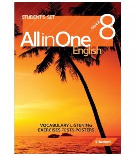 8.Sınıf Grade 8 English All in One Tudem Yayınları