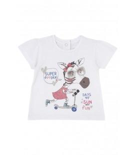 Chicco Kısa Kollu Sevimli Tshirt 61887