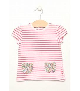 Chicco Pembe Kız Çocuk T-Shirt 61884013