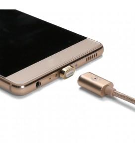 Manyetik Adsorpsiyon 3. Gen 1.2M Örgülü Tel Mikro USB Veri Şarj Kablosu