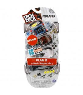 Tech Deck Plan B Dörtlü Paket ATK/99868-4