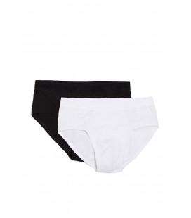 Mavi Beyaz Siyah Erkek Boxer 091030-620