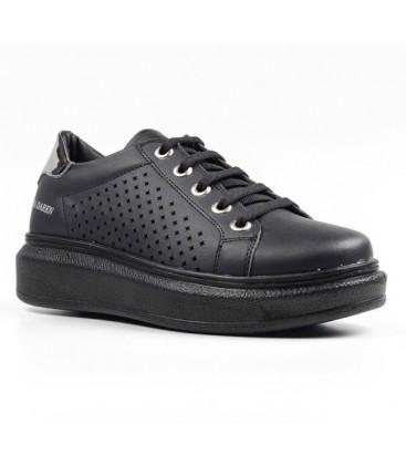 Spenco Bayan Ayakkabı Siyah Antrasit Z.292