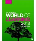 The Europa World of Learning 2018 68th Edition Volume 1 Volume 2 - 2 Kitap