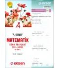 Eksen 7.Sınıf Matematik Konu Testleri